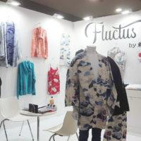 第8回 国際 アパレルEXPO【秋】に出展「fluctus」